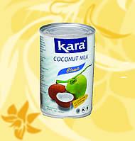 Кокосовое молоко натуральное, 17%, Kara,425 г, жб, ЧФоМо