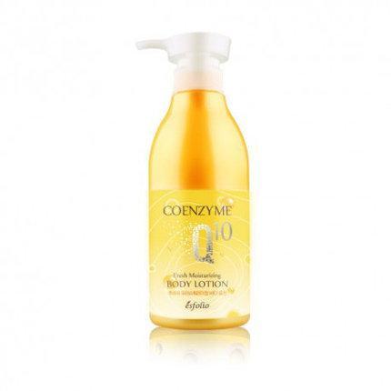 Лосьон для тела с Coenzyme Q10, Esfolio Coenzume Q10 Fresh Moisturizing Body Lotion, 500ml