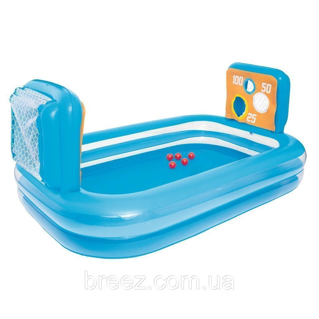 Детский надувной бассейн Bestway Тир 237 х 152 х 94 см