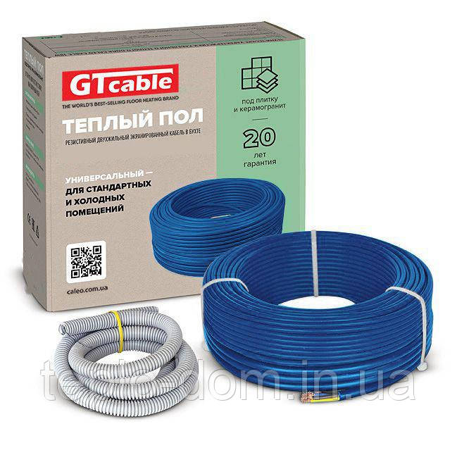 Нагревательный кабель GTcable ( теплый пол для дома)