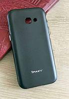 Мягкий чехол накладка IPAKY для Samsung Galaxy A5 2017 / A520 Черный, фото 1
