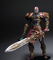 Фигурка Кратос с мечем 18 см. В блистере Бог войны God of War Kratos NECА, фото 1