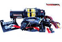 ✅Лебедка электрическая для квадроцикла POWERWINCH PW3500E SR 12V / 1,586 т с синтетическим тросом