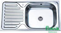 Мойка кухонная Platinum 7642_0,8 mm (сатин)