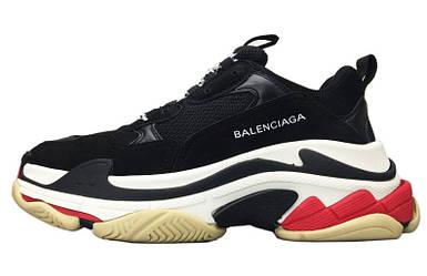 Кроссовки Женские Balenciaga Triple-S Sneaker Black Черные