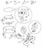 Надувная джакузи PureSpa Bubble Therapy+Hard Water System intex 28404(145/196Х71СМ), фото 8