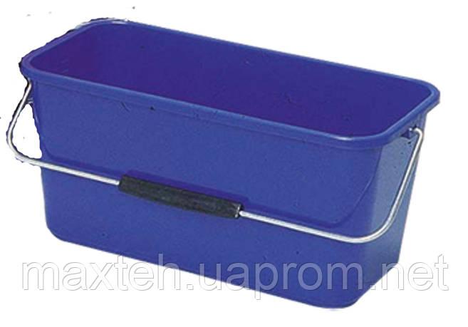 Ведро 13 л. прямоугольной формы синее