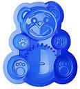 Форма силикон Медведь 16х13х3 см, фото 2