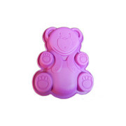 Форма силикон Медведь 16х13х3 см