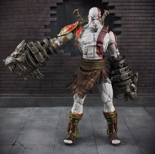 Фигурка Кратос 18 см. В фирменной коробке Бог войны God of War Kratos NECА