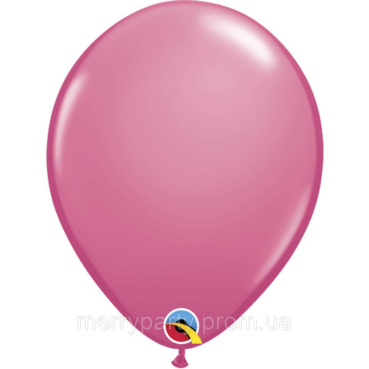 """11"""" (28 см) пастель розовый Rose Qualatex США латексный шар"""