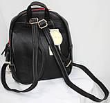 Сумка рюкзак модный женский городской (черный), фото 3