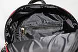 Сумка рюкзак модный женский городской (черный), фото 9