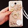 """ASUS ZenFone 5 LIte оригинальный чехол накладка бампер панель со стразами камнями на телефон """"ROYALER"""", фото 5"""