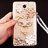 """ASUS ZenFone 4 Selfie PRO оригинальный чехол накладка бампер панель со стразами камнями на телефон """"ROYALER"""", фото 9"""