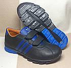 Кожаные кроссовки, копия Adidas, р. 39 (25,5 см), фото 3