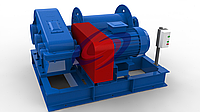 Лебедки тяговые ТЭЛ-10 (ТЛ-10)