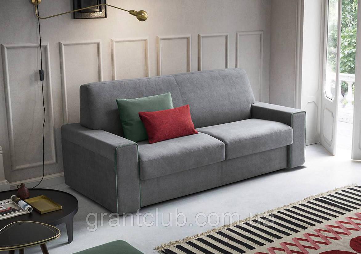 Раскладной итальянский диван MOSLEY с ортопедическим матрасом 160 см фабрика Felis