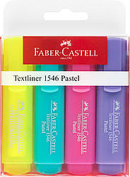 Набор маркеров Faber-Castell Textliner Pastel  4 цвета , 154610