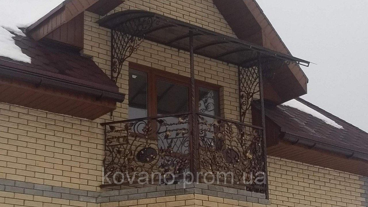Балкон кований