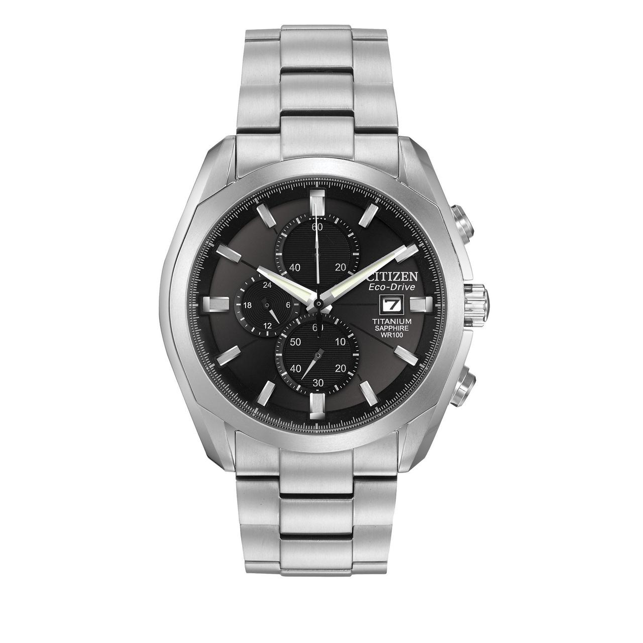 Часы Citizen Eco-Drive CA0020-56E Super Titanium B8076