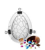 """Форма кондитерская поликарбонат """"Яйцо"""" 15см 3D на магните"""