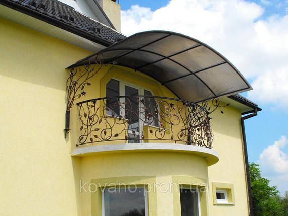 Кованый балкон, фото 2