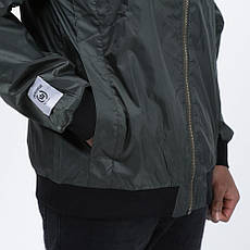 Мужская зеленая куртка Light Army Jacket DkGreen от Galagowear в размере S, фото 3