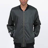 Удлиненный мужской бомбер куртка Light Army Jacket Dk Green от Galagowear в размере S