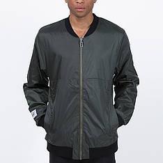 Подовжений чоловічий бомбер Light Army Jacket Dk Green від Galagowear в розмірі S