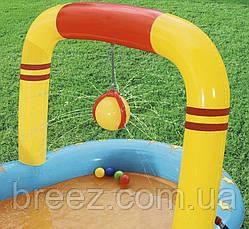 Детский надувной центр Bestway Маленькие чемпионы 435 х 213 x 117 см с игрушками и шариками, фото 2