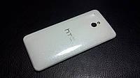 Декоративная защитная пленка для HTC One Mini белый перламутр, фото 1
