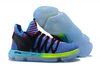 Баскетбольные кроссовки Nike Zoom KD 10 Multicolor РЕПЛИКА ААА