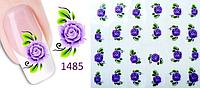 Слайдеры, водные наклейки, мелкие цветы, фото 1