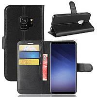 Чехол Samsung S9 / G960 книжка PU-Кожа черный
