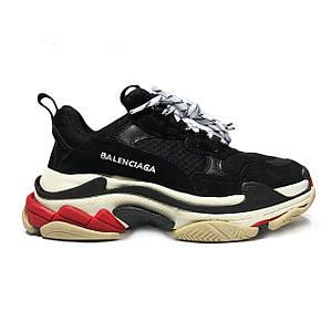 Кроссовки Balenciaga Triple - S Sneaker Black Черные
