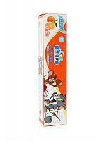 Тайская детская зубная паста Кодомо Апельсин Kodomo Lion Xylitol Plus Special Toothpaste for Children, 40 г