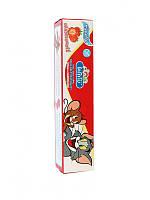 Тайская детская зубная паста Кодомо Клубничка Kodomo Lion Xylitol Plus Special Toothpaste for Children, 40 г