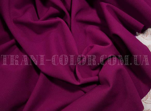 Трикотаж креп- дайвинг фиолетовый, фото 2