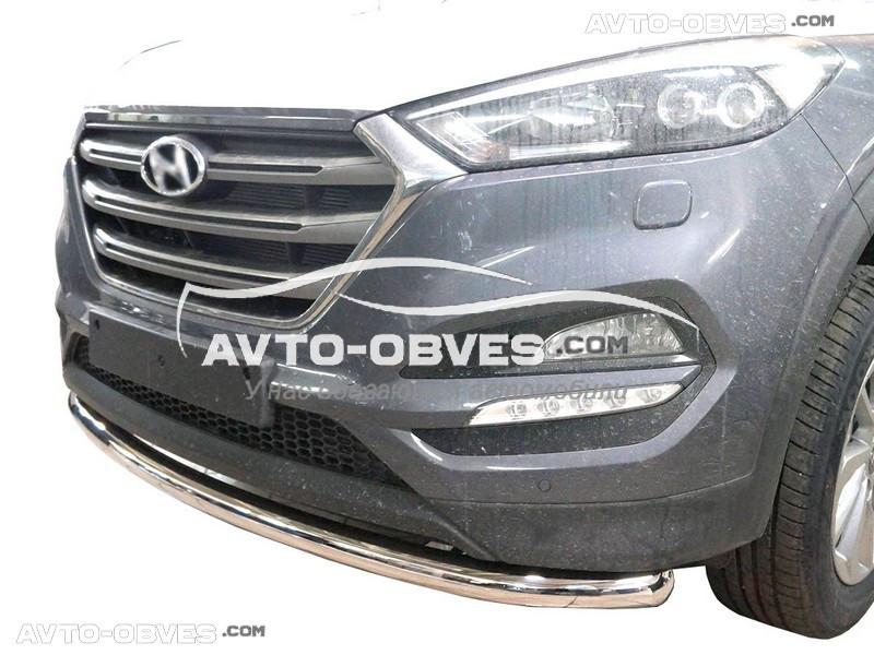 Защитная дуга одинарная Hyundai Tucson 2015-2019