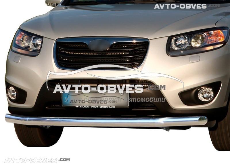 Защитная дуга одинарная для Hyundai Santa Fe 2010-2012