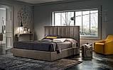 Итальянская современная кровать с высоким изголовьем CLYDE фабрика Felis, фото 2
