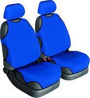 Майки на сиденья Beltex Cotton (без подголовников) синий