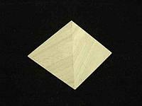 Пирамида из Цеолита 4 см Натуральные камни Украины