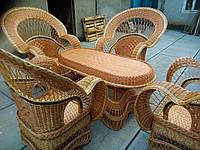 """Набор """"Королевский"""" 4 кресла + стол №1"""