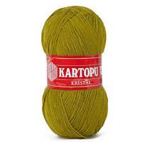 Kartopu Kristal №K457 оливковый