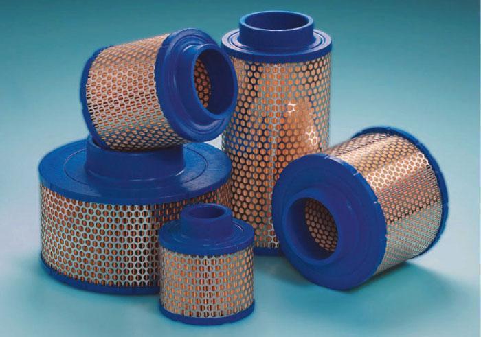 Воздушный фильтр для комрессора  Dalgakiran (Далгакиран) DVK125, DVK150, DVK180, DVK220