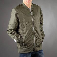 Удлиненный мужской бомбер Light Army Jacket Green от Galagowear в размере XL 52/54