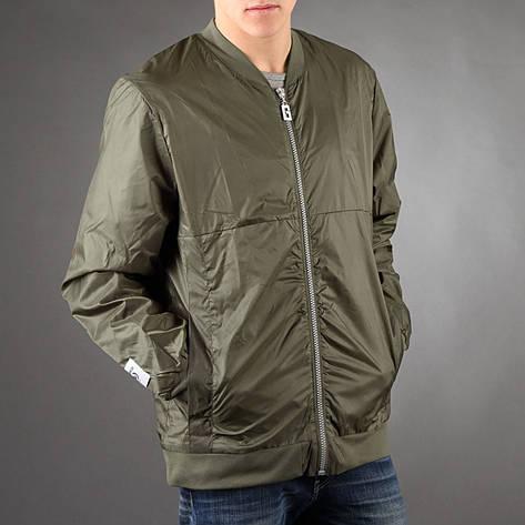 Удлиненный мужской бомбер Light Army Jacket Green от Galagowear в размере XL 52/54, фото 2