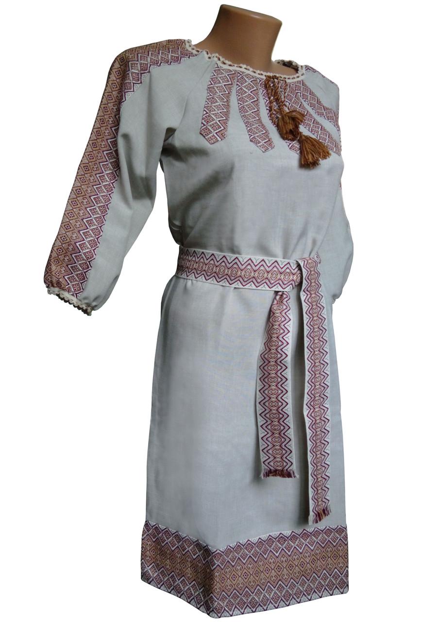 Вишиті жіночі сукні в українському стилі льон  продажа fd88f3807543e